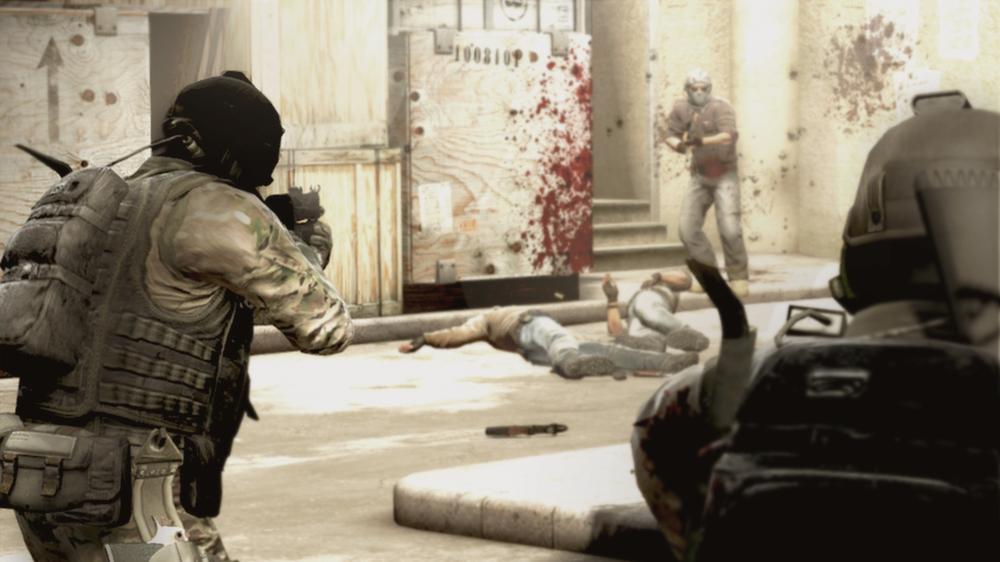 A screenshot from CS:GO.