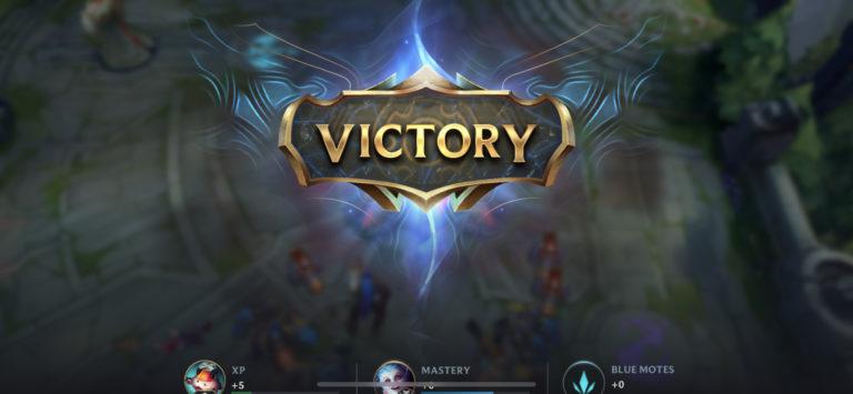 lol wild rift victory