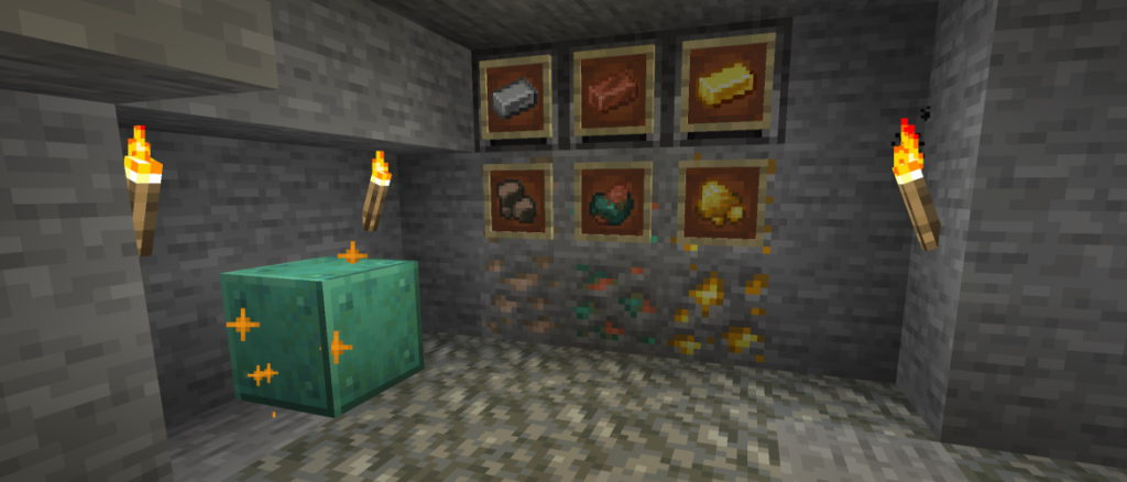 ores in minecraft
